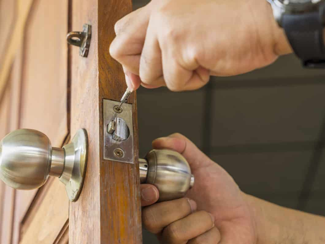 Image result for new locks installed in the home