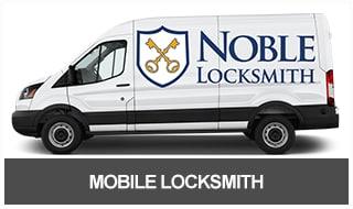 Noble Lock & Key's Mobile 24 Hour Locksmith Van